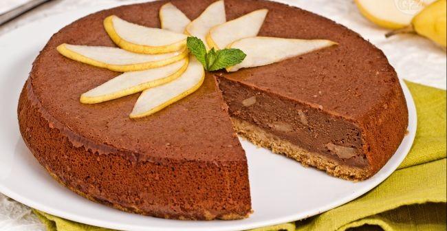 Cheesecake-al-Cioccolato-e-Mele