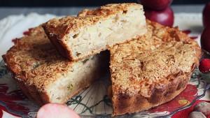 Torta-di-mele-vegetariana