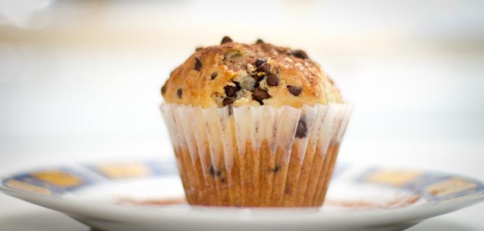 Muffin-con-gocce-di-dioccolato